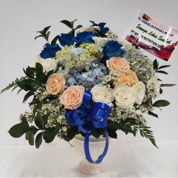 table bouquet murah